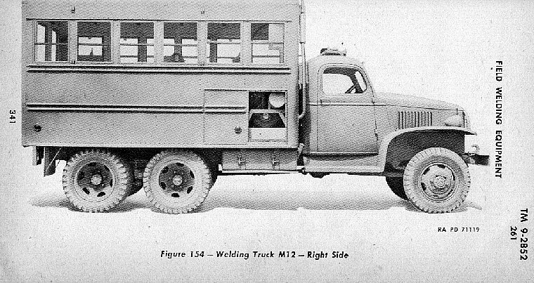 Gmc Ordnance Maintenance Truck
