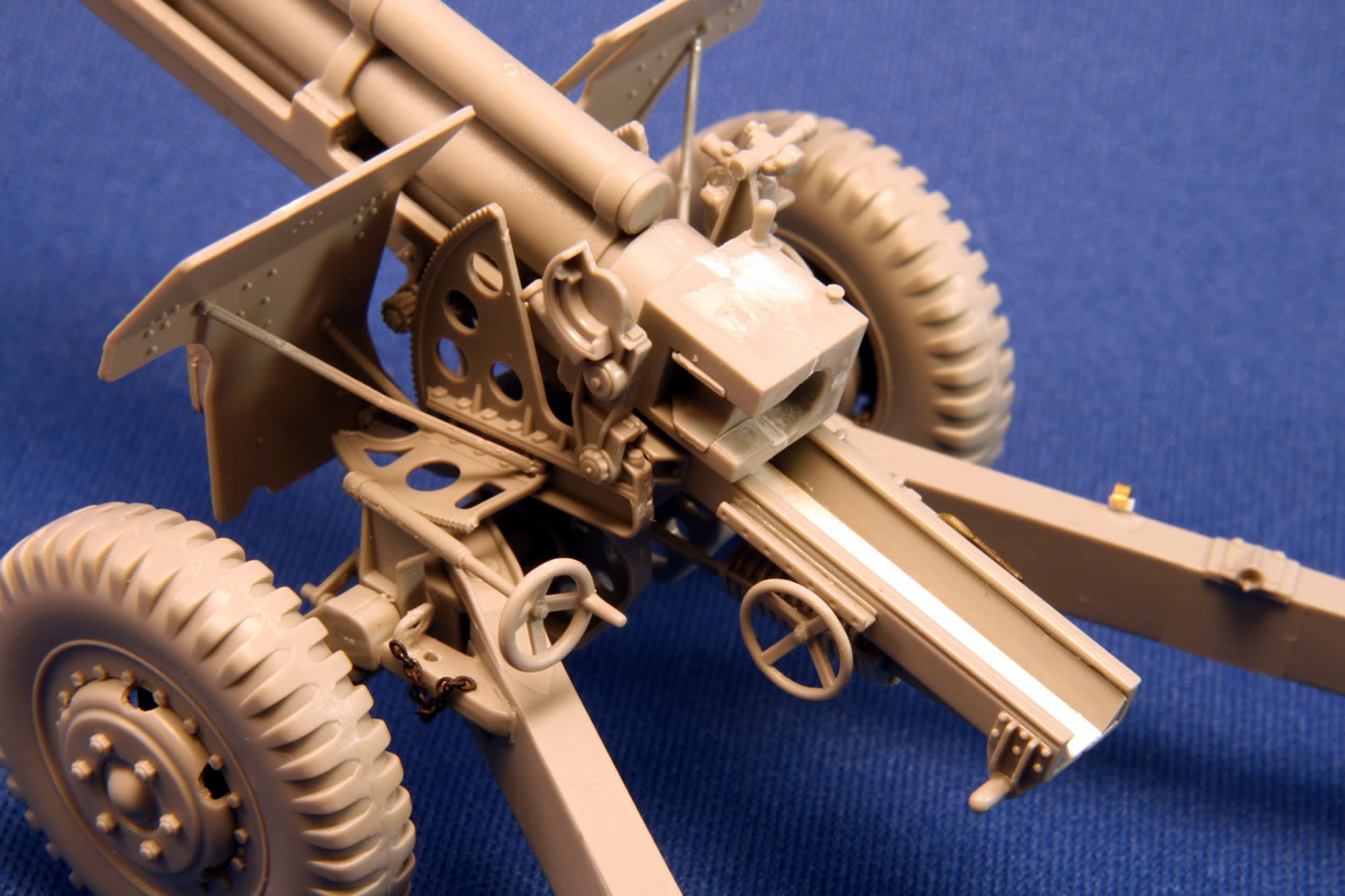 A note about part B2   M101 Howitzer Wwii