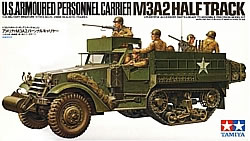 Tamiya's M3A2 is a prototype that never went into production. It can be easily modified to an M3 or M3A1.