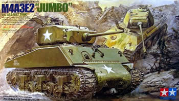 sherman jumbo tanks