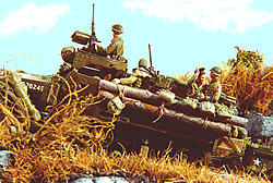 M3A1 built by the author for his Hurtgen Forest diorama.